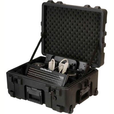 "SKB R Series Waterproof Utility Case 3R2217-10B-DW Wheels & Padded Dividers, 24-1/4""L x 19-1/4""W"
