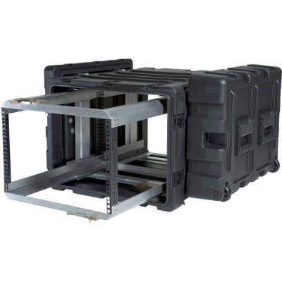 SKB Cases 7U Removable Shock Rack 3RR-7U24-25B Black, Water Resistant