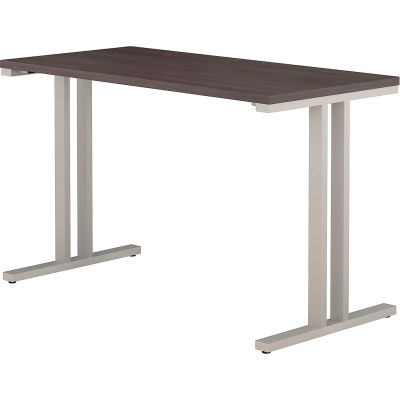 "Bush Furniture 48""W X 24""D Training Table - Storm Gray - 400 Series"