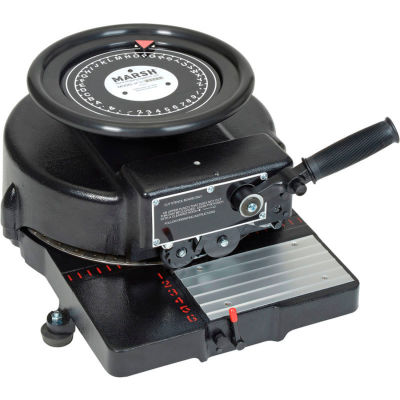 """Marsh® Manual Stencil Machine for 1/2"""" Characters - Model H"""
