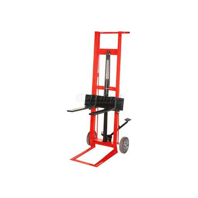 Wesco® Foot Pedal Adjustable Forks Lift Truck 260006 2 Wheel Style 750 Lb.