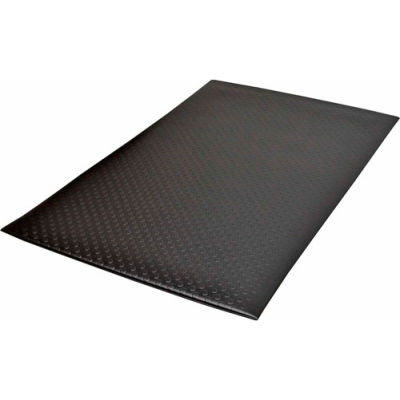 "NoTrax® Bubble Sof-Tred™ Anti Fatigue Mat 1/2"" Thick 4' x 60' Black"
