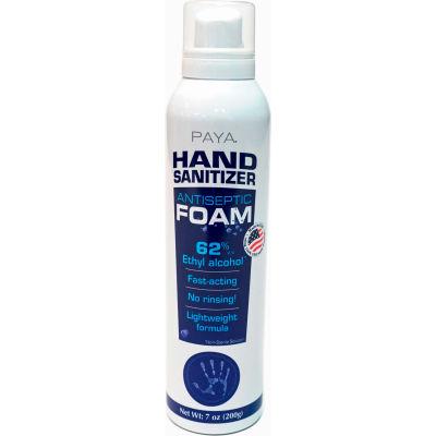 PAYA® Hand Sanitizer Foam, 7 oz. Aerosol Can - 41801-800-PB24 - Pkg Qty 24