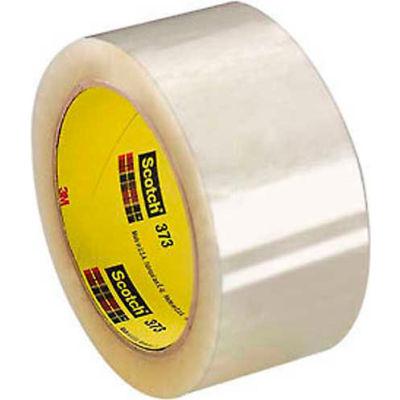 "3M™ Scotch® 373 Carton Sealing Tape 2"" x 55 Yds. 2.5 Mil Clear - Pkg Qty 36"