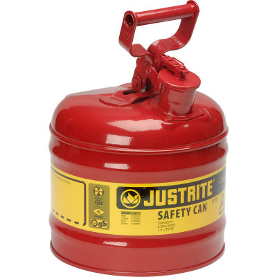 Safety Can Type I - Two Gallon Galvanized Steel, 7120100
