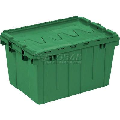 Buckhorn Attached Lid Container 39160- 27x16-7/8x12-1/2 - Pkg Qty 4