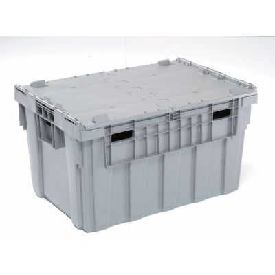 Buckhorn Attached Lid Container AS3424201201000 - 34x24x19-5/8 - Pkg Qty 3