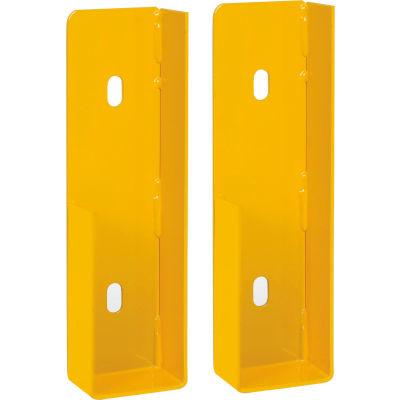 Global Industrial™ Steel Bracket Kit in Pair for Drop-In Style, Yellow