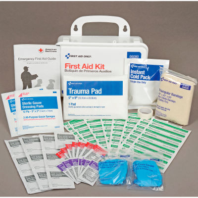 First Aid Only™ Best Value First Aid Kit, 25-Person, Plastic
