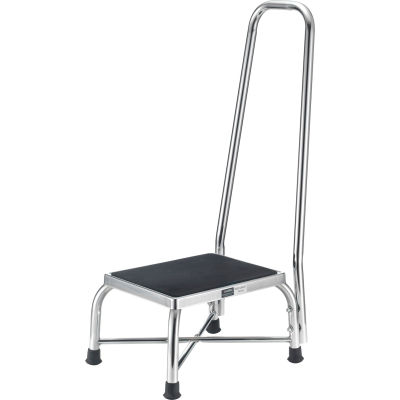 Global Industrial™ Medical Heavy Duty Bariatric Step Stool With Handrail