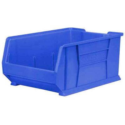 "Akro-Mils® Super-Size AkroBin® Plastic Stacking Bin, 16-1/2""W x 23-7/8""D x 11""H, Blue"