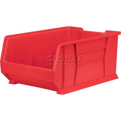 """Akro-Mils Super-Size AkroBin® 30288 - Stacking Bin 16-1/2""""W x 23-7/8""""D x 11""""H Red"""
