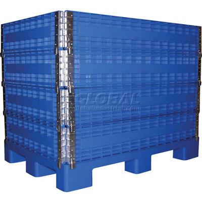 MULTI-C Multi-High Container 2000 Lbs Capacity, Blue