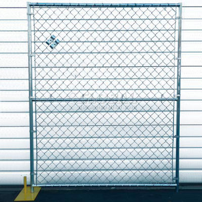 Chain Link Fence, Powder Coat Finish - 5'Wx6'H 8 Panel Kit