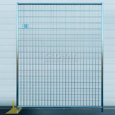 Welded Wire Fence, Powder Coat Finish - 5'Wx6'H 12 Panel Kit