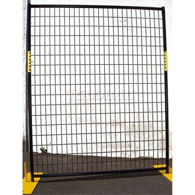 Welded Wire Powder Coat Fence - 8 Panel Kit