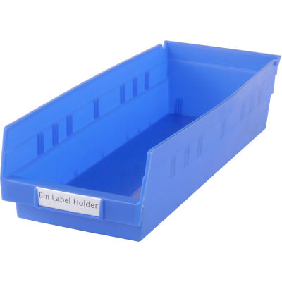 "Tri-Dex Label Holder 13/16"" x 3"" for Shelf Bin 7x18x4 Price per Pack of 25"