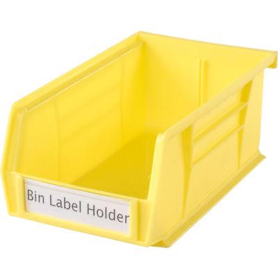 "Aigner Tri-Dex TR-1300 Slide-In Label Holder 13/16"" x 3"" for Shelf Bins, Price per Pack of 25"