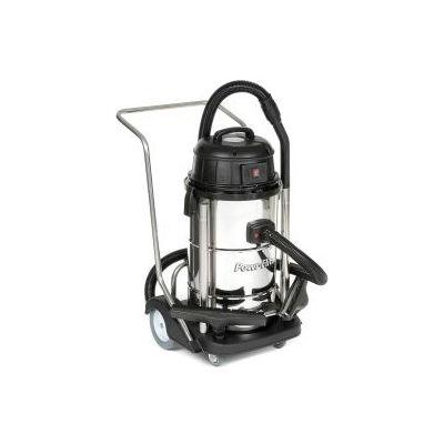 Powr-Flite® Stainless Steel Wet/Dry Vacuum, 20 Gallon Cap.