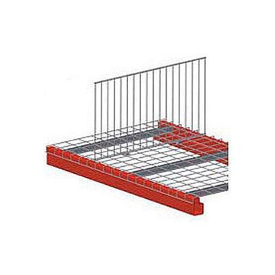 """Pallet Rack Wire Deck Divider 34""""D X 18""""H"""