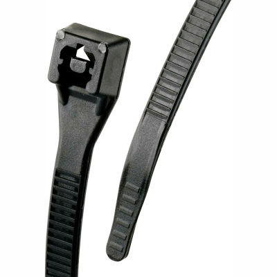 "Gardner Bender 46-314UVBFZ 14"" Xtreme Temp Cable Ties, Black, 50lb, 100/pk"