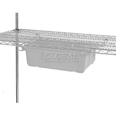 """Nexel® AST24C Single Box Slide for 18""""D and 24""""D Shelves - Pair"""