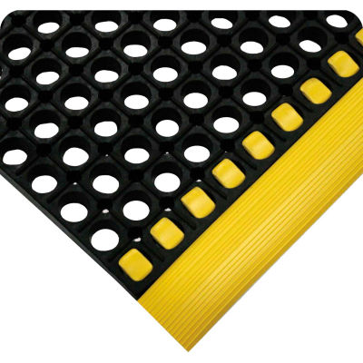 """Wearwell® WorkSafe® Edging 3/4"""" Thick 2"""" x 65' Yellow"""