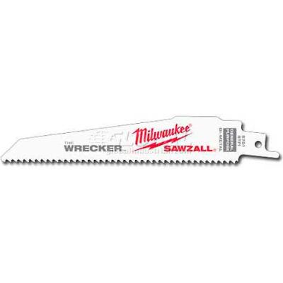 "Milwaukee® 48-01-2701 6"" 8 TPI The Wrecker™ SAWZALL® Blade"
