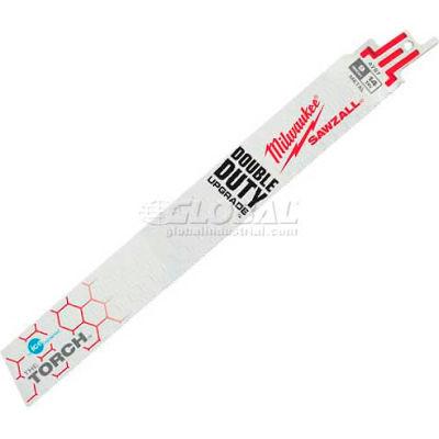 "Milwaukee® The Torch™ 48-01-8787 9"" 14TPI Ice Hardened™ SAWZALL® Blade (50 Pk)"