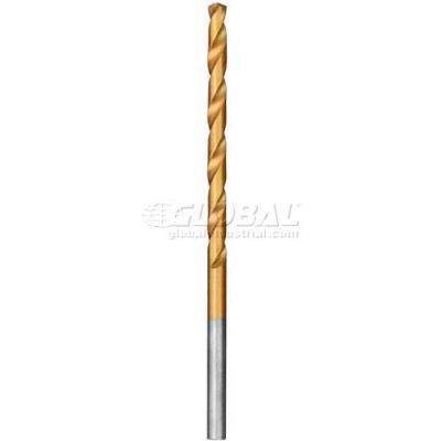 "Milwaukee® 48-89-2205 Thunderbolt® 1/8"" 2-3/4"" Titanium Coated Drill Bit (2 Pack)"