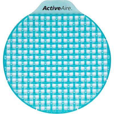 GP ActiveAire Pacific Meadow Low Splash Deodorizer Urinal Screen, 12 Screens/Case - 48264