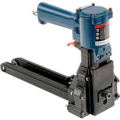 "American International Electric Pneumatic Carton Stapler for 3/4"" & 5/8"" Staples, Blue"