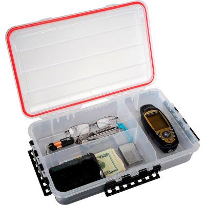 "Plano Guide Waterproof StowAway® w/O-Ring Seal Box, 14""W x 9""D x 2-7/8""H, Clear"