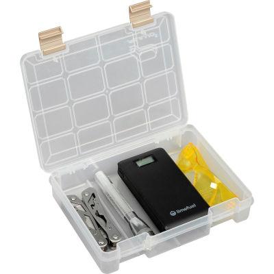 "Plano ProLatch™ StowAway® Open Compartment Box, 9""L x 7""W x 2""H, Clear - Pkg Qty 2"