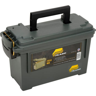 """Plano Molding 1312-00 Water Resistant Ammo Can Filed Box, 11-5/8""""L x 5-1/8""""W x 7-1/8""""H, Green"""
