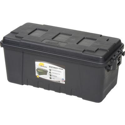 "Plano Molding 1719-00 68 Quart Storage Trunk, 30""L x 14-1/4""W x 12-3/4""H, Black"