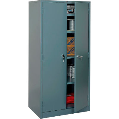 Global Industrial™ Storage Cabinet Easy Assembly 36x24x78 Gray