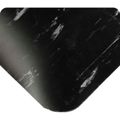 "Wearwell® UltraSoft SMART® Tile-Top™ 7/8"" Thick 2' x 60' Black"