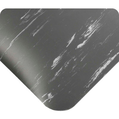 "Wearwell® SMART® Tile-Top™ Anti Fatigue Mat 1/2"" Thick 2' x 60' Charcoal"