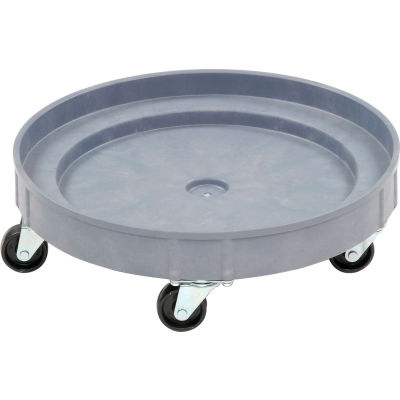 Global Industrial™ Plastic Drum Dolly for 30 & 55 Gallon Drums 900 Lb. Capacity