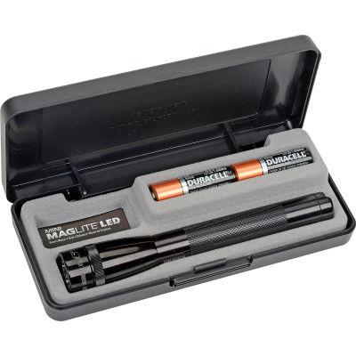 Maglite® SP22017 2 Cell AA Mini LED Flashlight Black