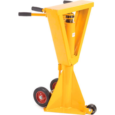 Global Industrial™ Heavy-Duty Trailer Stabilizing Jack Stand, 100,000 Lb. Static Capacity