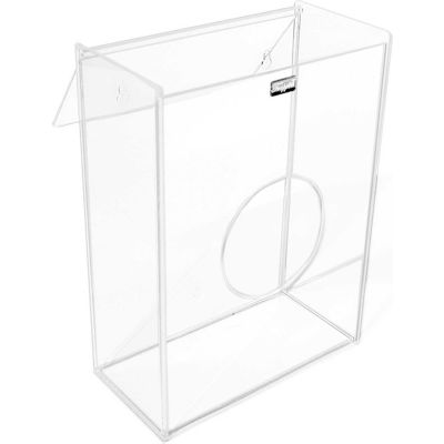 "TrippNT™ Acrylic Small Apparel Dispenser for Hairnet/Beard Covers, 8-1/2""W x 11-5/8""H x 4-1/4""D"