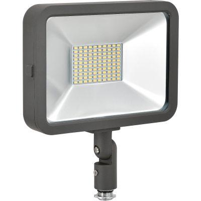 Global Industrial™ LED Flood Light, 50W, 4500 Lumens, 5000K, w/Knuckle Mount