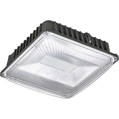 Global Industrial™ LED Canopy Light, 50W, 4500 Lumens, 5000K, Low Profile
