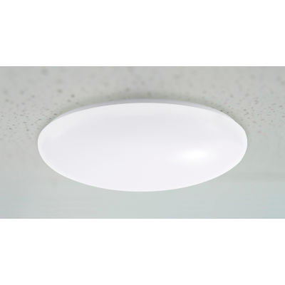 """Global Industrial™ 11"""" LED Round Ceiling Light, 15W, 4000K, 1500 Lumens, 120V, Dimmable"""
