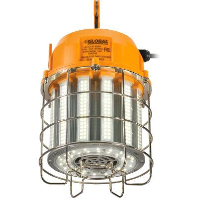 Global Industrial™ LED Temporary Area Work Light, 100W, 5000K, 12000 Lumens