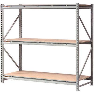 "Global Industrial™ Extra Heavy Duty Storage Rack, Wood Deck, 72""Wx24""Dx120""H Starter"