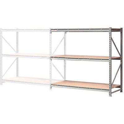 "Global Industrial™ Extra High Capacity Bulk Rack With Wood Decking 96""W x 36""D x 72""H Add-On"