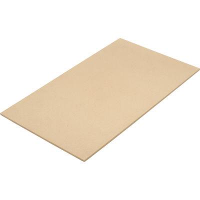 """Global Industrial™ Wood Deck 72""""W X 36""""D X 5/8""""Tk"""
